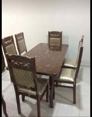 - Azərbaycan: Masa ve 6 sutul 280 azn hazrı var ucuz ve kefiyet bizde tezedir