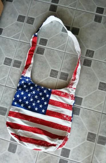 Ženska torba sa printom američke zastave - Obrenovac