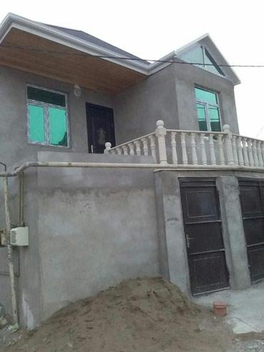 Xırdalan şəhərində Masazirda  2 màrtàbàli alti qarawli 4 otaqli tàmirli hàyàt evi