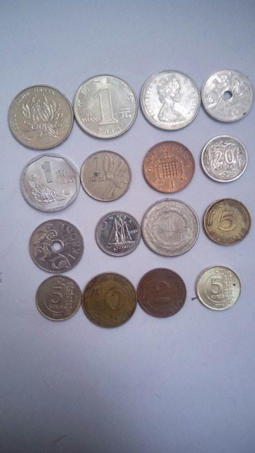 Иностранные монеты за все 150с в Бишкек