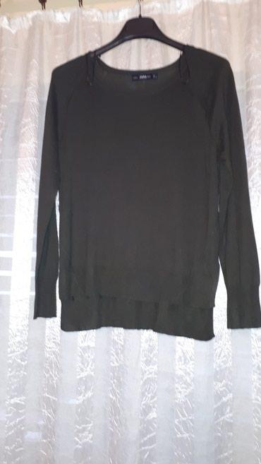 POVOLJNO Zenska bluza prelepa, ZARA KNIT, made in Cambodza, maslinasto - Belgrade