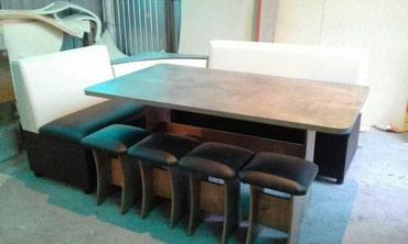 Угловые диваны в столовую и кухню. в Бишкек