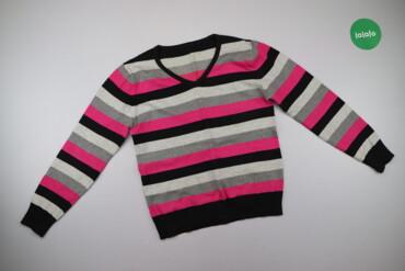 Жіночий пуловер у смужку, р. S/M     Довжина: 57 см Ширина плечей: 40