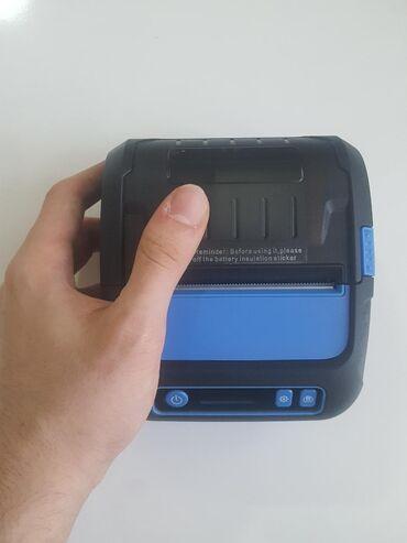 Yeni mobil printer Milestone. Həm çek, həm etiket çap edir. + 1 illik