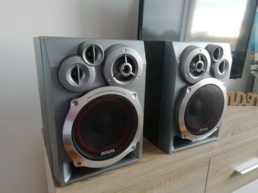 Zvučnici Aiwa SX NR40 od 6 oma. Dimenzije zvučnika visina 33cm