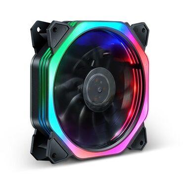 Вентилятор светодиодный Cube Aurora 12025 см 12 см, DC 12V-0.23A