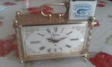 """Часы будильник кварцевые """"СЛАВА"""" в Ош"""