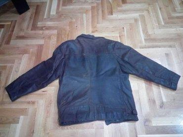 Nizi-struk-bokove-duzine-skriveni-cibzar - Srbija: Kožna jakna,polovna,neispravan cibzar,braon boje,veličina 40