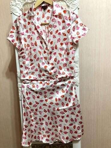 наволочки из атласа в Кыргызстан: Одежда женская КостюмЮбкаКофтаРазмер 42-44АтласКачество супер