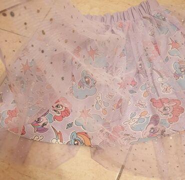 Branje malina - Srbija: My LITTLE PONY - moj mali poni suknja sa tilom i cirkonima -