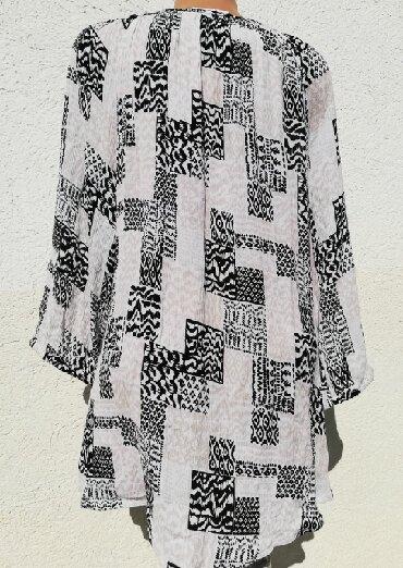Elegantna bluza xl - Srbija: Tunika*NOVO GINA BENOTTI*100%Viskoza XL*48/50 (201)izabertite 3