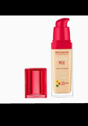 Оригинал-470 сом тональный крем Bourjois Healthy Mix Anti-Fatigue тон