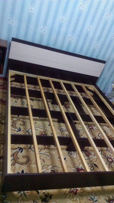 Двуспальная кровать+ ортопедический в Бишкек