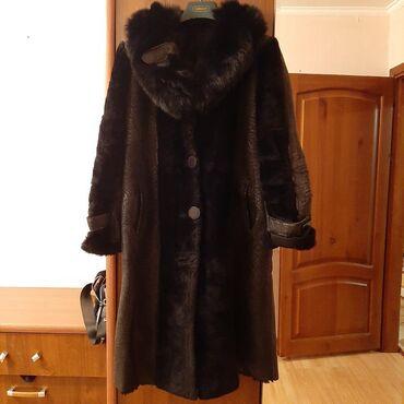 Дубленки для женщин - Кыргызстан: Женская дубленка натуралка облегченка очень теплая! Производство Турци