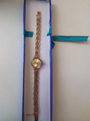 595 проба в Кыргызстан: Золотые часы Длина 18см Проба 583