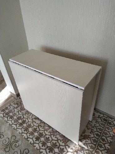 стол трансформер чёрного цвета в Кыргызстан: Стол книжка, трансформер. Новый. Размер 170*80 см. На заказ можно