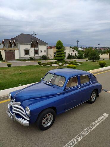 QAZ - Gəncə: QAZ M-20 Pobeda 2.1 l. 1957 | 10000 km