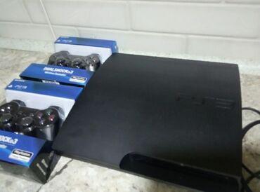джойстики redragon в Кыргызстан: PlayStation 3 Slim 320 GB (прошитая, Hen 4.87). Хорошее состояние, два