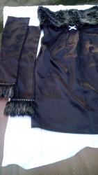 Haljinica sifra - Srbija: Haljina jako lepa grudi 40 struk 36 duzina 70 krzno na haljini 15 cm