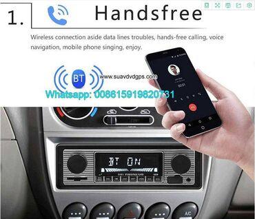 Single din car stereoCar Stereo Bluetooth FM Radio in dash one