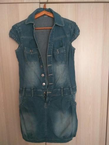Продаю джинсовый  сарафан в хорошем  в Бишкек