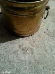 Prodaju se mesingovane ukrasne saksije - Crvenka