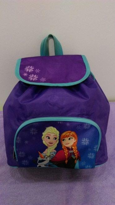 Anatomski ranac - Crvenka: Ranac Disney Frozen za devojčice, dobijen na poklon iz Nemačke, visine