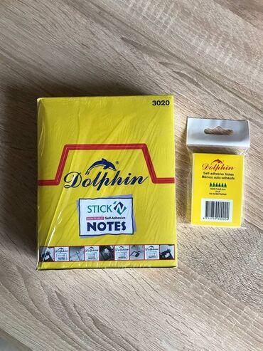 """держатель для зубных щеток и пасты настенный в Кыргызстан: Стикер """"Dolphin"""" (5.0*1.2 см)Бумага для заметок с клейким краем"""