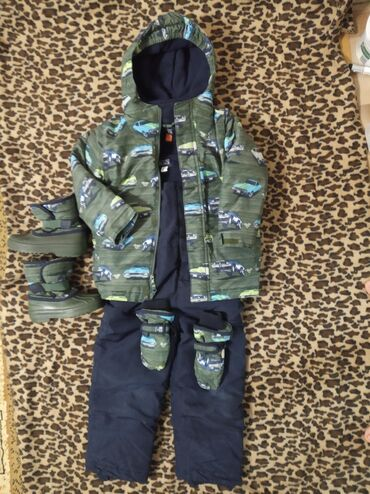 Children's Place куртка+комбез+варежки+сапогиРазмер: 5Т (5 лет)/