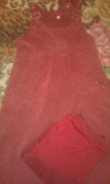 Женская одежда в Сокулук: Сарафаны для беременных обе за 200 сом или обмен на пачку памперсы