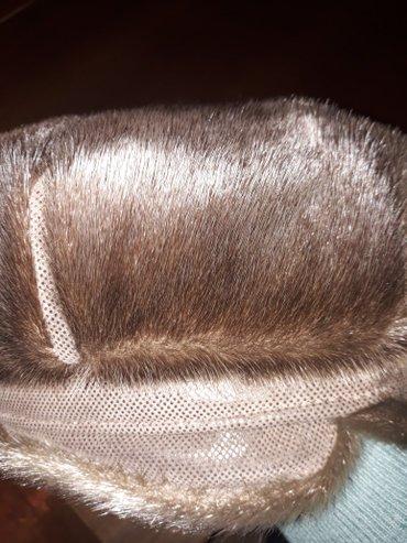 шапка-кепи из нерпы in Кок-Ой