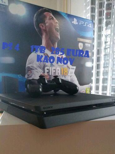 Play station 2 - Srbija: Sony Play Station 4 Slim 1TB + fifa igrica, kao nov koriscen bukvalno