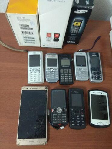 сони эриксон кнопочный в Кыргызстан: Продаю старые мобильные телефоны, не функционируют батарейки,не нужно