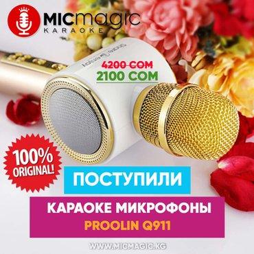 Караоке микрофоны с колонкой в Бишкек