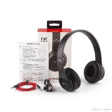 kişi üçün idman əlcəkləri - Azərbaycan: P47 Nauşnik Bluetooth. Bluetooth QulaqlıqYüksək səs effekti.Stereo və