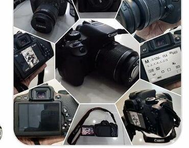 canon 4410 - Azərbaycan: Canon Eos 650D SATIRAM . Heç bir problemi yoxdur . herşeyi işlək
