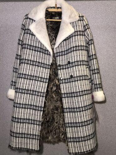 секционные ворота бишкек в Кыргызстан: Пальто из натуральной шерсти. Воротник и рукава норка. Подклад коза. О