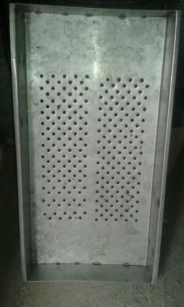 столик для фруктов в Кыргызстан: Стилажи контейнер для сушки фруктов овощей металл нерж 6 шт