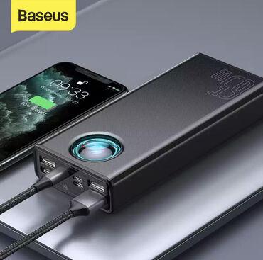 phone - Azərbaycan: Baseus 30000mAh power bankı.Baseus şirkətindən güclü və sürətli power