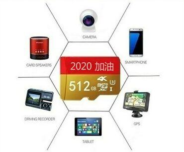 Mobil telefonlar üçün digər aksesuarlar - Azərbaycan: Sd kart flas kart 512 GB