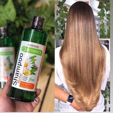 Slonovaca - Srbija: Herbal Mix, za sve tipove kose, 329din.  Sadrži ekstrakte zelenog