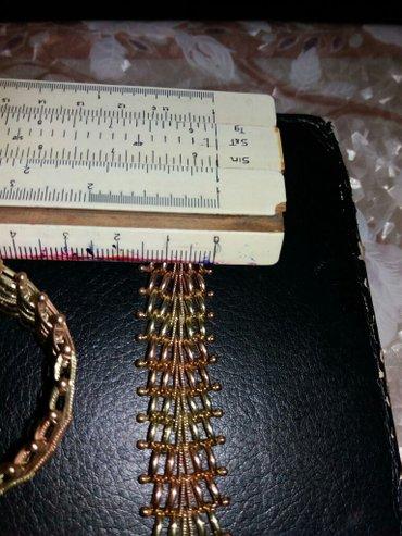 Bakı şəhərində Gizil sumbul komplekt boyunbag ve golbag(cep ve braslet) 50azn/gr