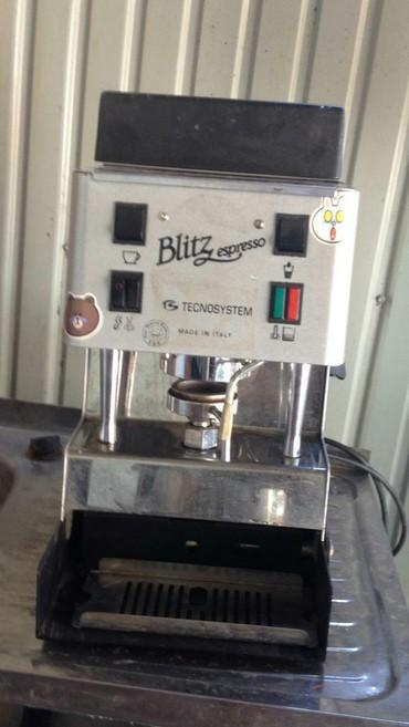 капсульная кофемашина nespresso с капучинатором в Кыргызстан: Срочно продам! Кофе машина. В рабочем состоянии. все виды кофе. Blitz