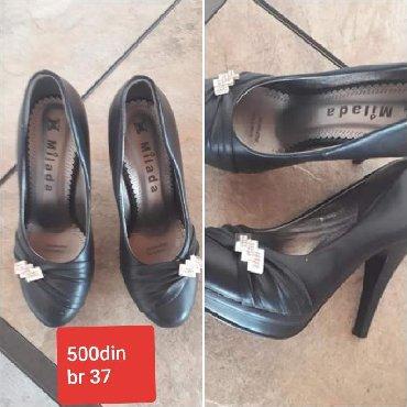 Ženska obuća | Novi Becej: Cipele jednom nosene broj 37 cena 500din
