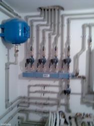 тёплый полы водяные сантехника в Кыргызстан: Сантехника теплый пол ( водяной ). отопление водопровод