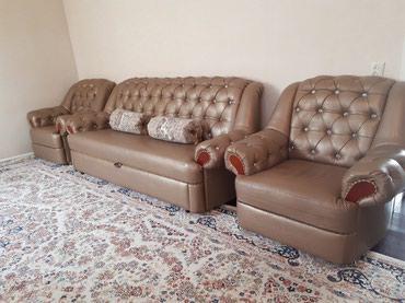 Новый роскошный комплект (диван и два в Бишкек