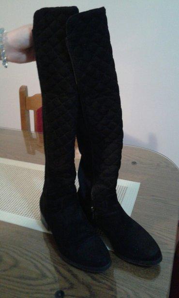 Zenska cizma,jednom obuvena,bez ostecenja,apsolutno nova... Crna - Krusevac