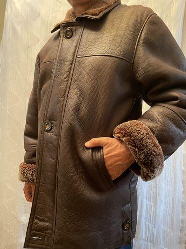 все по 50 сом бишкек адреса in Кыргызстан | ДРУГИЕ ДЕТСКИЕ ВЕЩИ: Мужская дубленка, цвет коричневый, размер 50