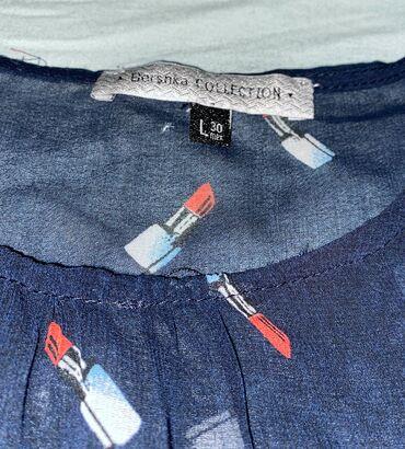 Prozirna Bershka majica