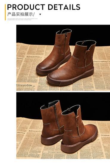Модная зимняя обувь Британской модели в Бишкек